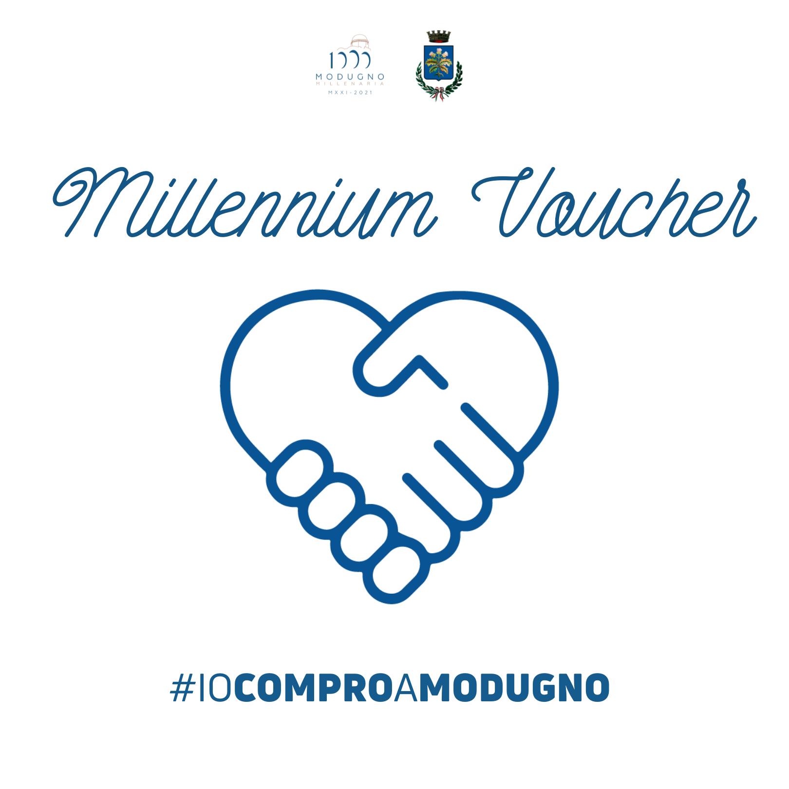 Iniziativa  'Millennium Voucher' – #iocomproamodugno